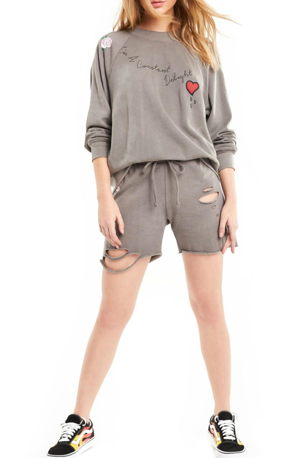 Wildfox Delight Sommers Sweater - Front Full Image