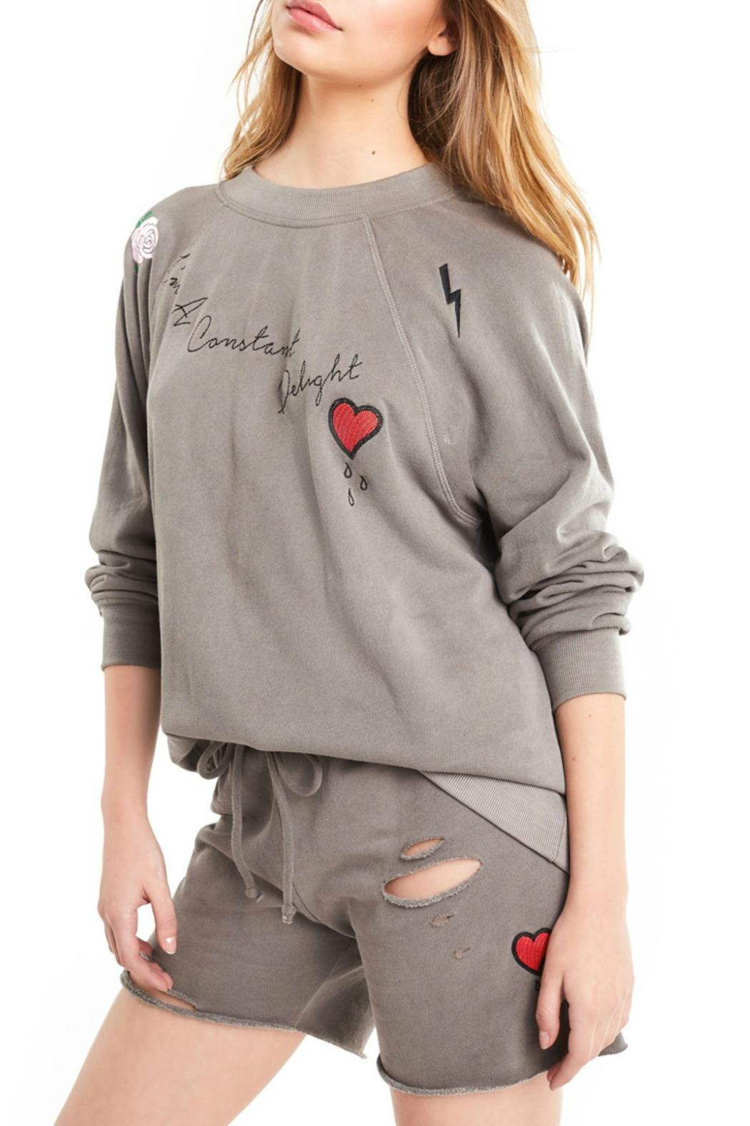 Wildfox Delight Sommers Sweater - Side Cropped Image