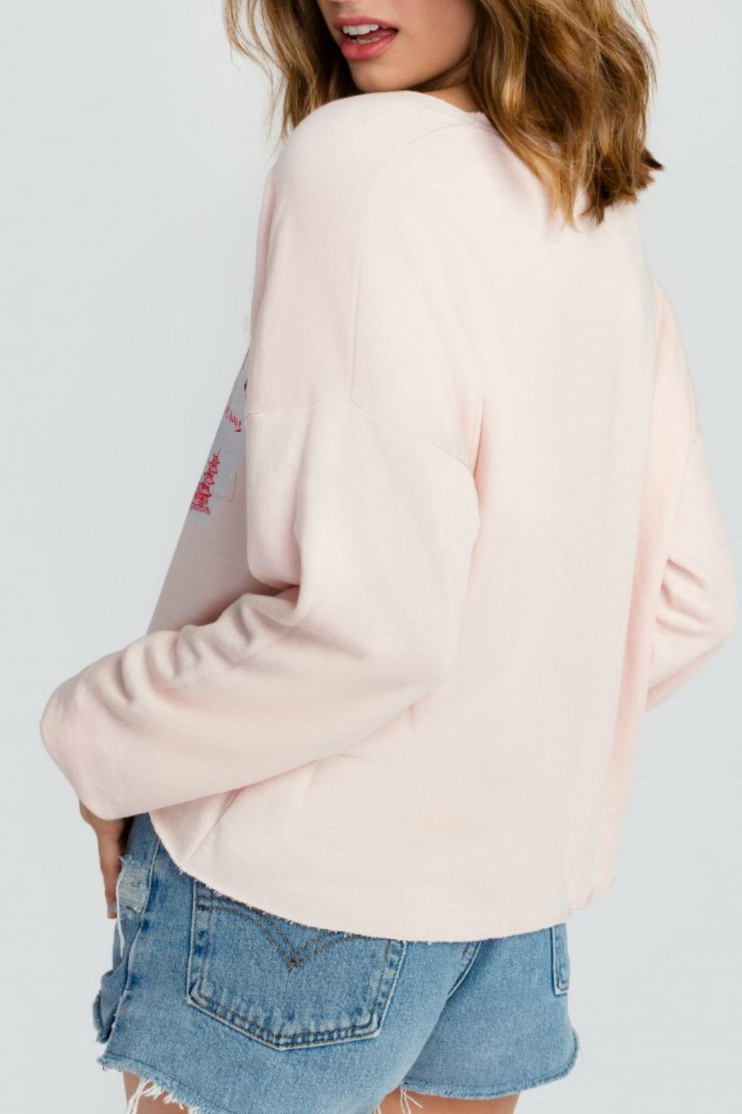 Wildfox Dream Vs. Reality Sweater - Back Cropped Image