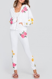 Wildfox Floral White Hoodie - Product Mini Image