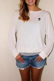 Wildfox Fourth List Pullover - Front cropped