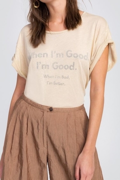 Shoptiques Product: Good & Bad Tee
