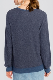 Wildfox Hollywood Groceries Jumper - Back cropped