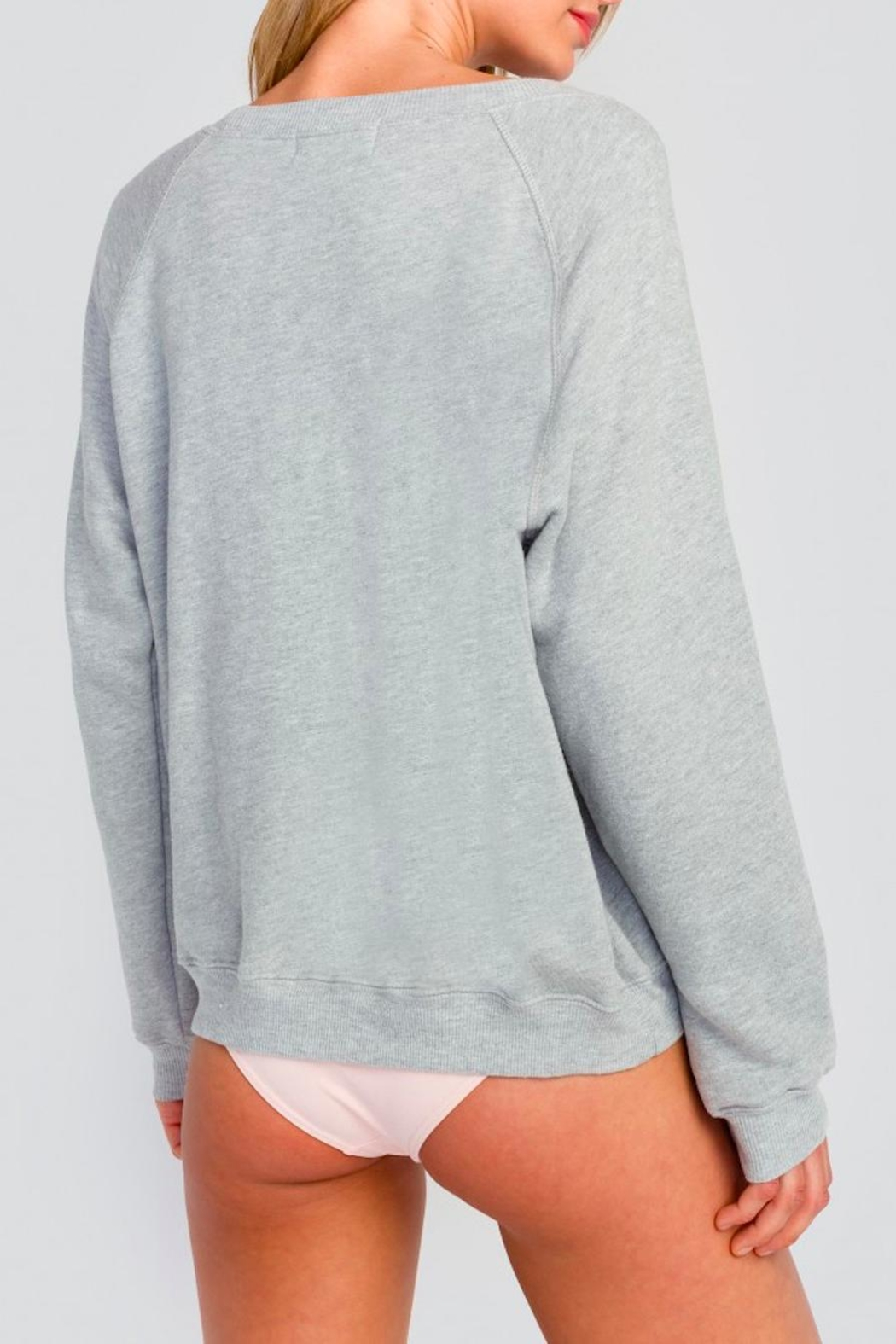 Wildfox Ice Cream Sweatshirt - Back Cropped Image