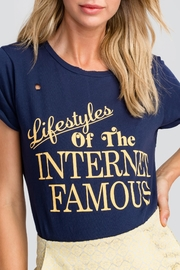 Wildfox Internet Famous Tee - Front full body