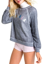 Wildfox Oh-La La Sweatshirt - Front full body