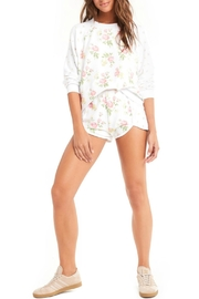 Wildfox Patchwork Floral Sweater - Front full body
