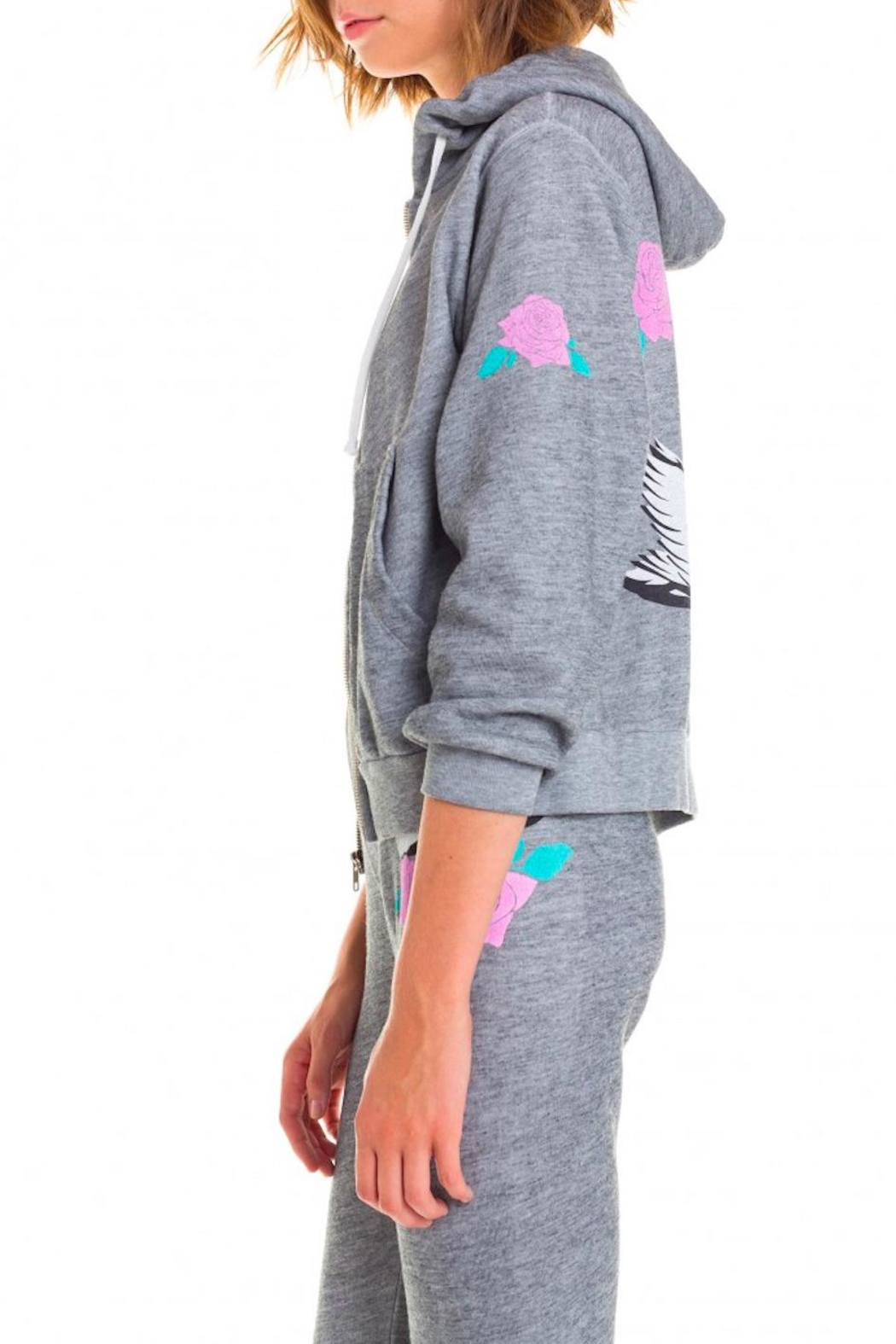 Wildfox Regan Swan Hoodie - Back Cropped Image