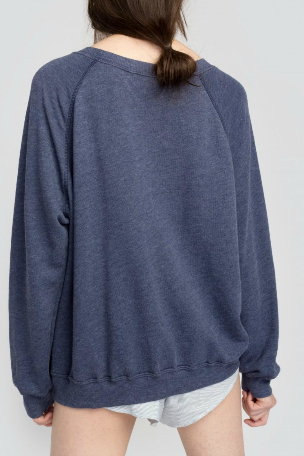 Wildfox Selectively Social Sweatshirt - Back Cropped Image