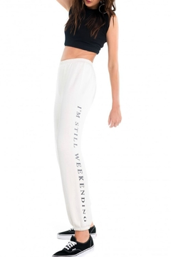 Wildfox Still Weekend Sweatpants - Product List Image