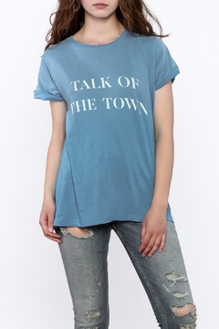 Wildfox Blue Statement Tee - Product List Image