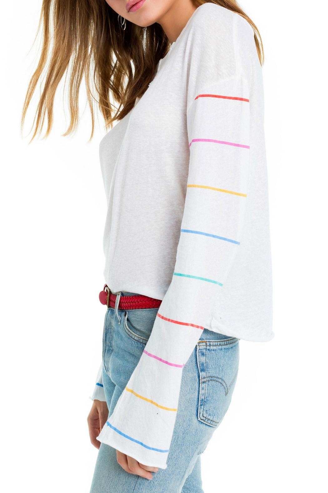 Wildfox Tennis Stripe Tee - Front Full Image