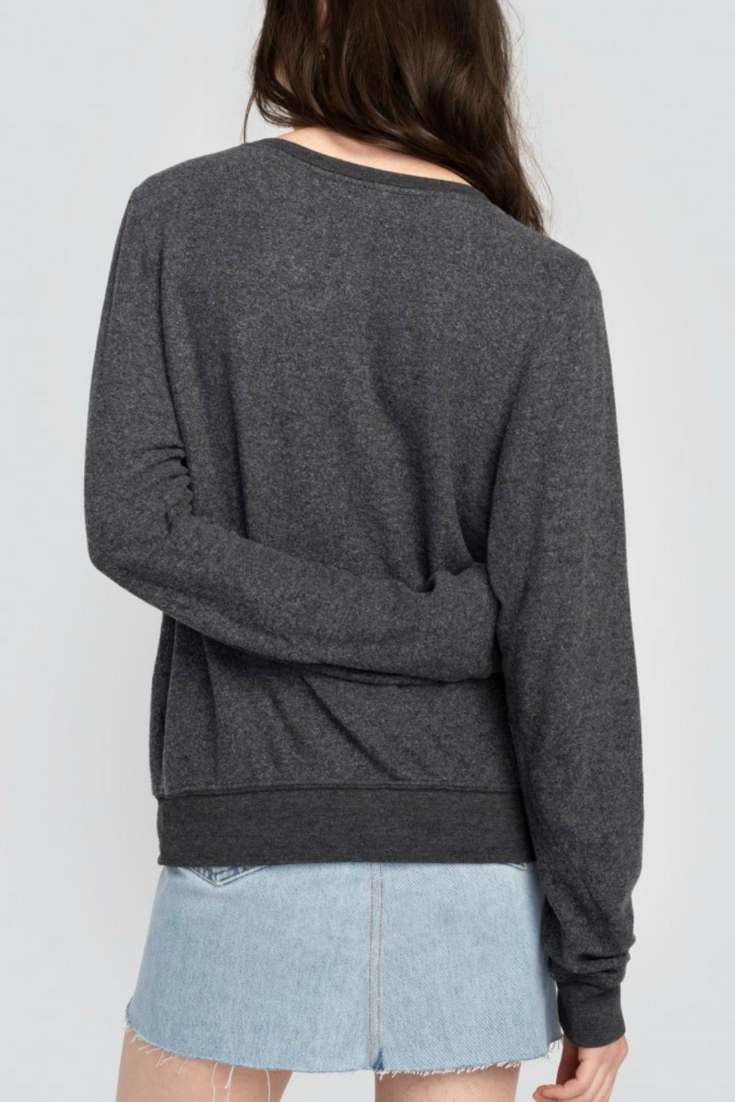 Wildfox Too Glam Sweatshirt - Back Cropped Image