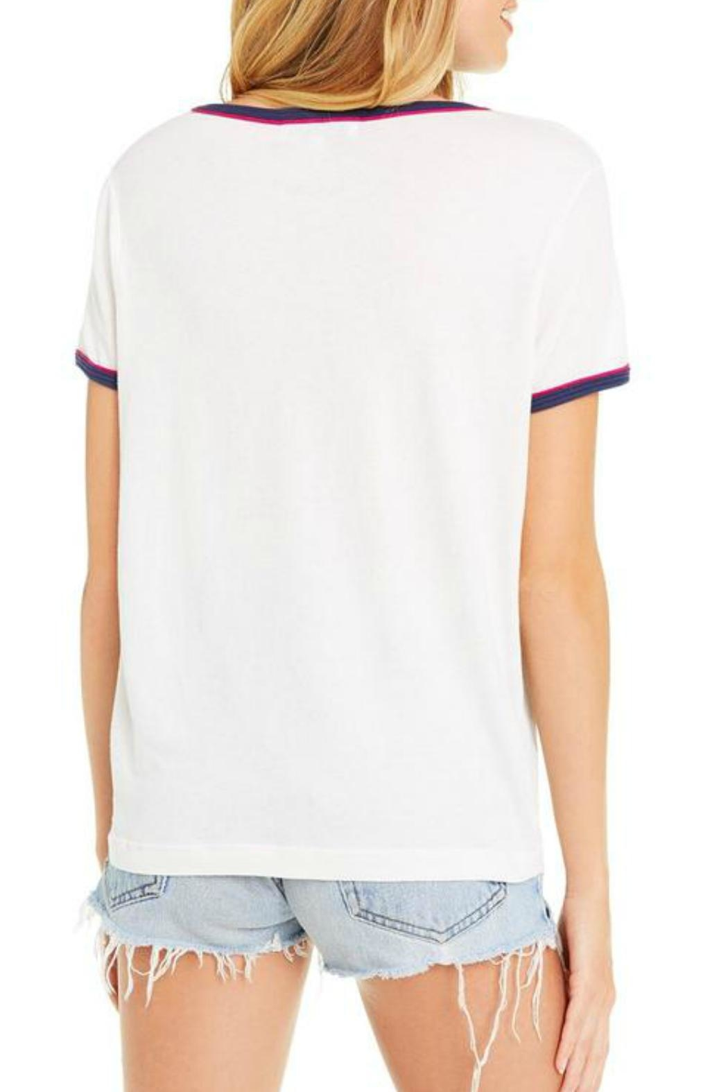 Wildfox Vibe-On-This Tee - Back Cropped Image