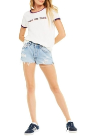 Wildfox Vibe-On-This Tee - Front full body