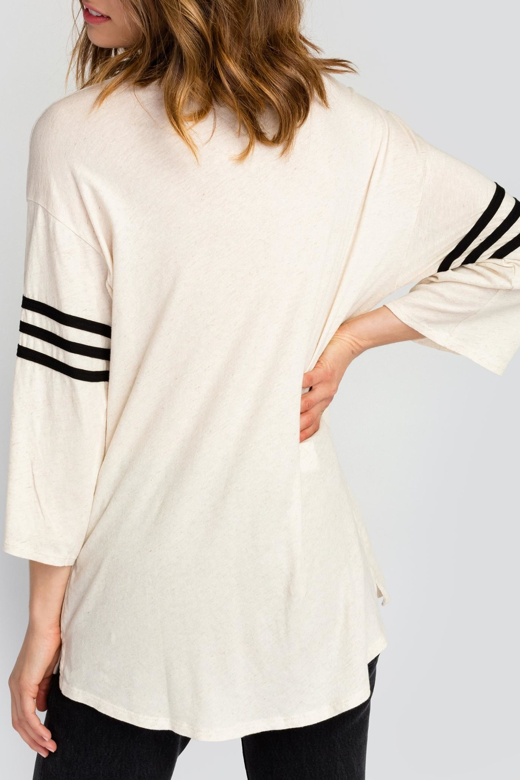 Wildfox Working Out Tunic Top - Back Cropped Image