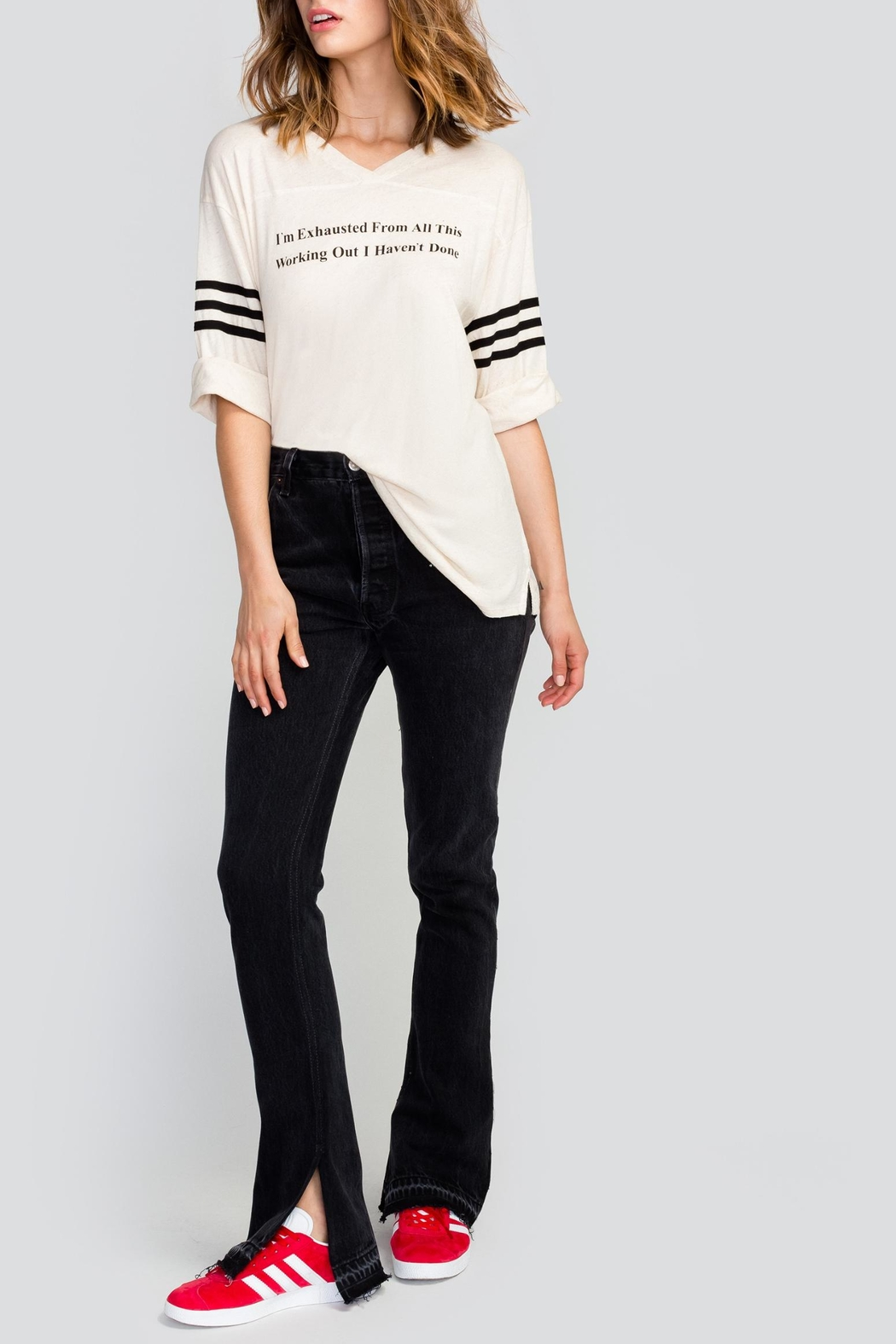 Wildfox Working Out Tunic Top - Front Full Image