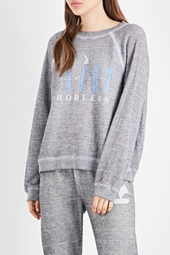 Wildfox Yacht Problems Sweatshirt - Product List Image