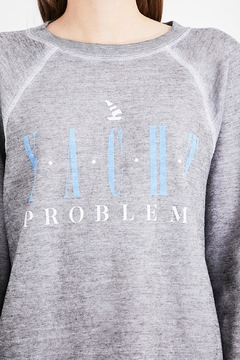 Wildfox Yacht Problems Sweatshirt - Alternate List Image