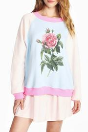 WildFox Couture Floral Sweatshirt - Front cropped