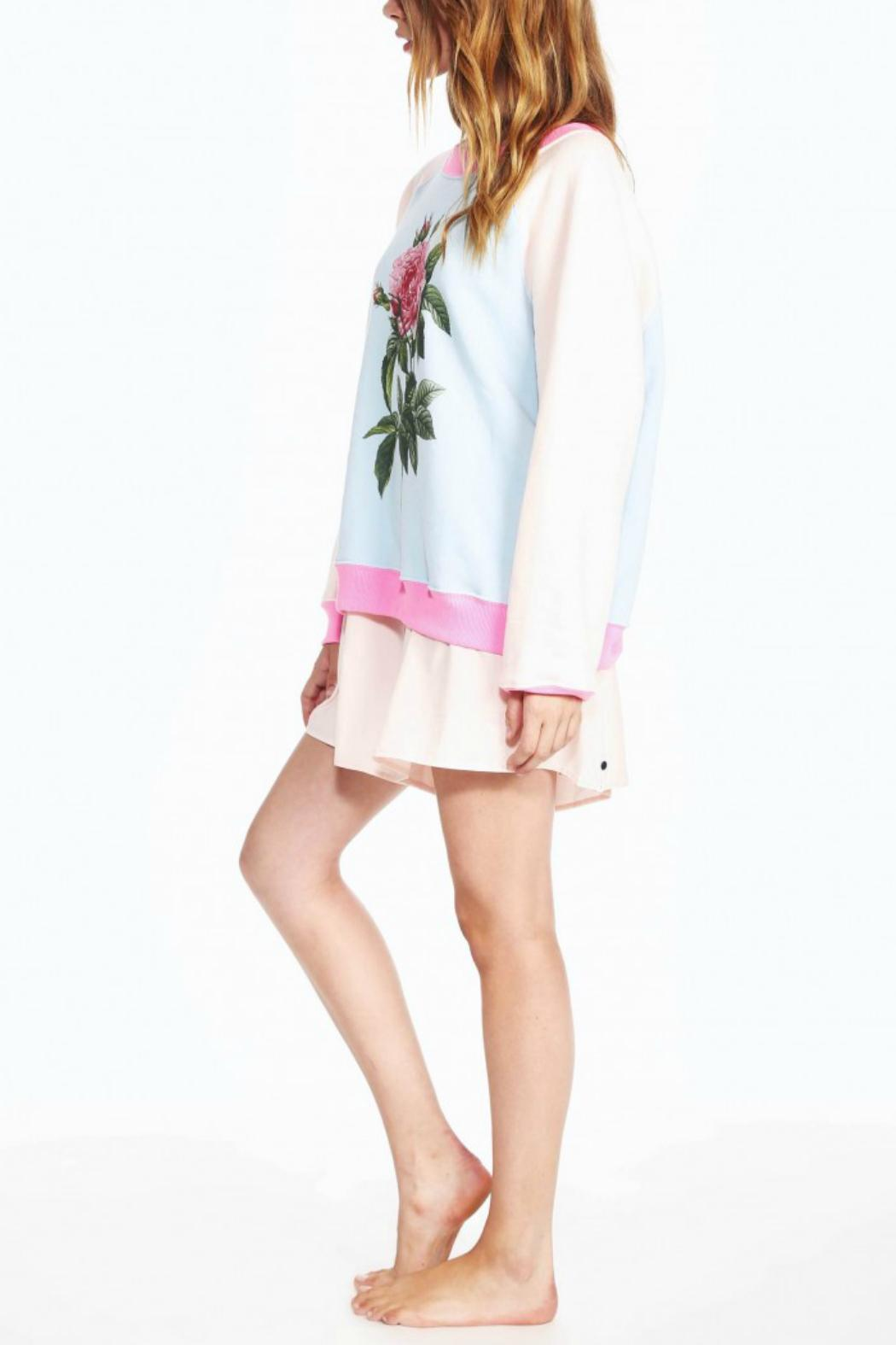 WildFox Couture Floral Sweatshirt - Side Cropped Image