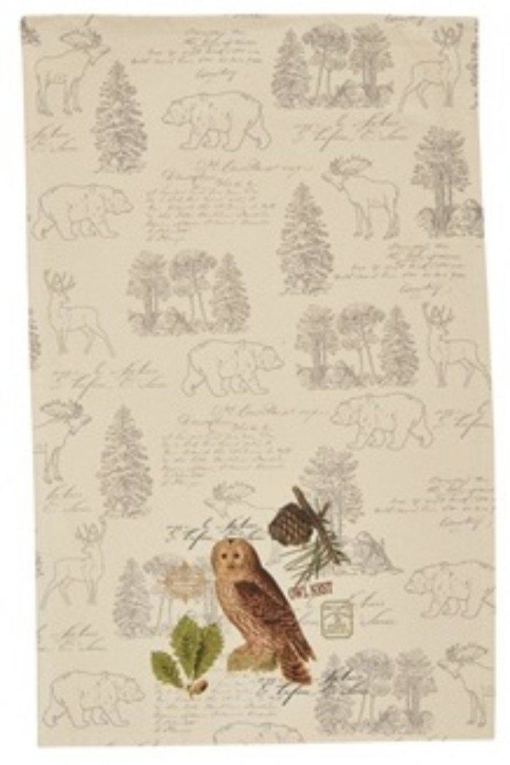 Park Designs Wildlife Trail Dishtowels - Front Cropped Image