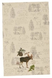 Park Designs Wildlife Trail Dishtowels - Front cropped
