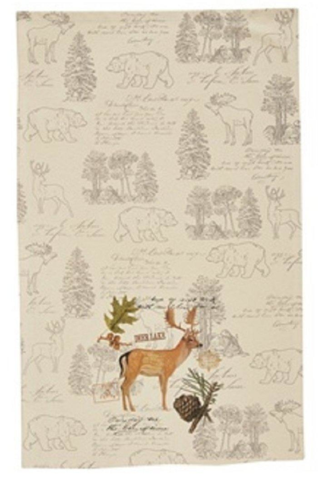 Park Designs Wildlife Trail Dishtowels - Front Full Image