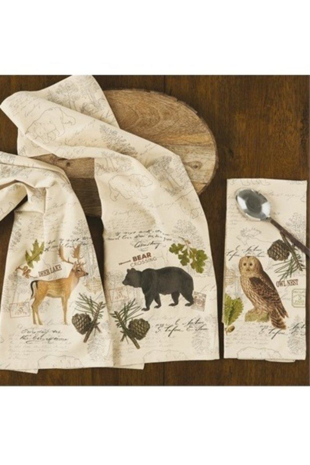 Park Designs Wildlife Trail Dishtowels - Main Image