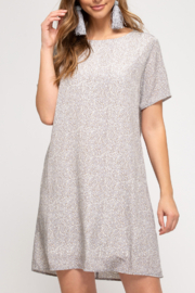 She and Sky Wildly Classic dress - Product Mini Image