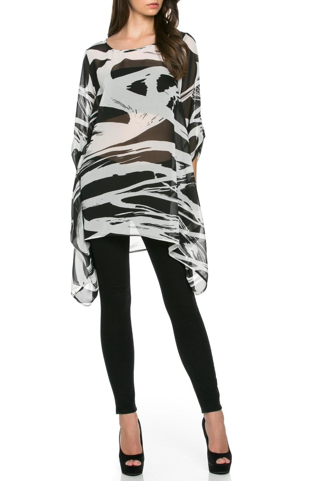 TOV Wildside Chiffon Tunic - Main Image