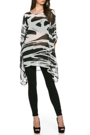 TOV Wildside Chiffon Tunic - Front cropped