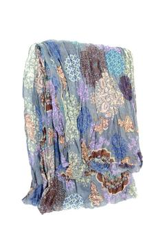 Shoptiques Product: Chambray Medallion Scarf