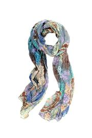 Wilkins & Olander Chambray Medallion Scarf - Product Mini Image