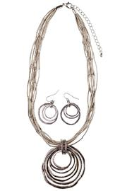 Wilkins & Olander Rings Necklace Set - Front cropped