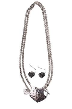 Shoptiques Product: Toggle Heart Necklace