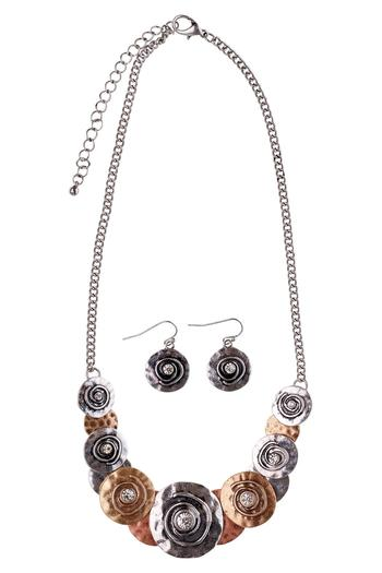 tone fancy product tri necklace jewelry jeulia