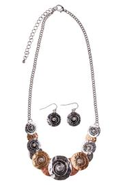 Wilkins & Olander Tri-Tone Necklace Set - Product Mini Image