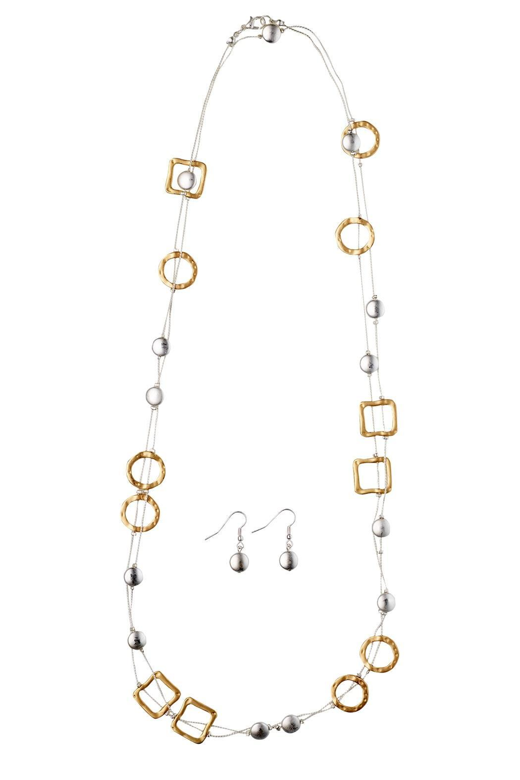 Wilkins & Olander Two-Tone Long Necklace - Main Image