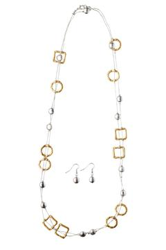 Wilkins & Olander Two-Tone Long Necklace - Alternate List Image