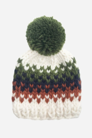 Blueberry Hill Will Stripe Beanie - Product Mini Image