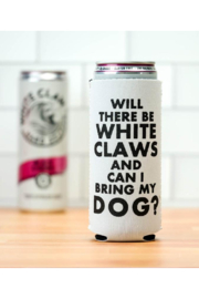 MERIWETHER Will there be White Claws Koozie - Product Mini Image