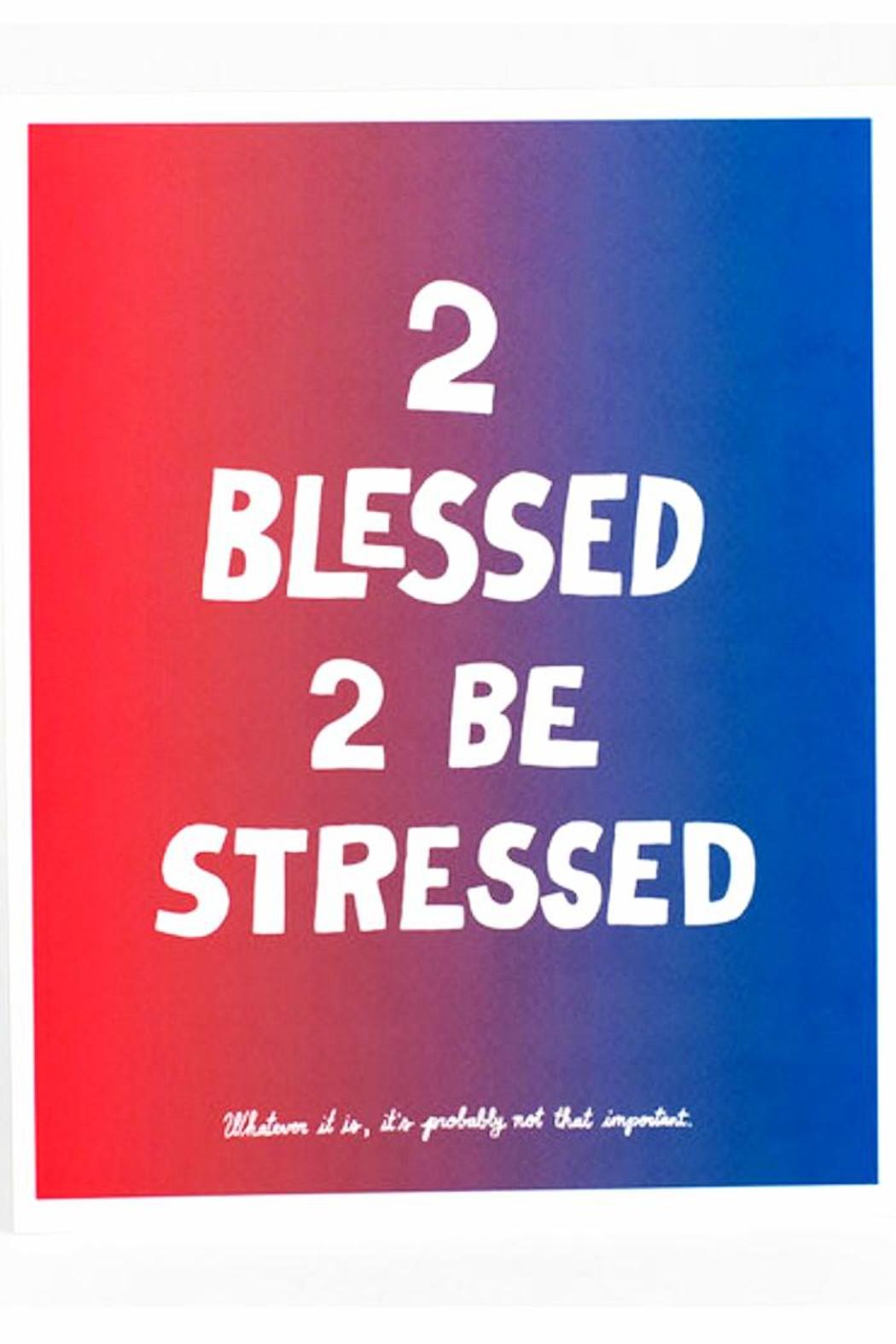 Will Bryant 2 Blessed Print - Front Cropped Image