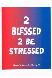 Shoptiques Product: 2 Blessed Print