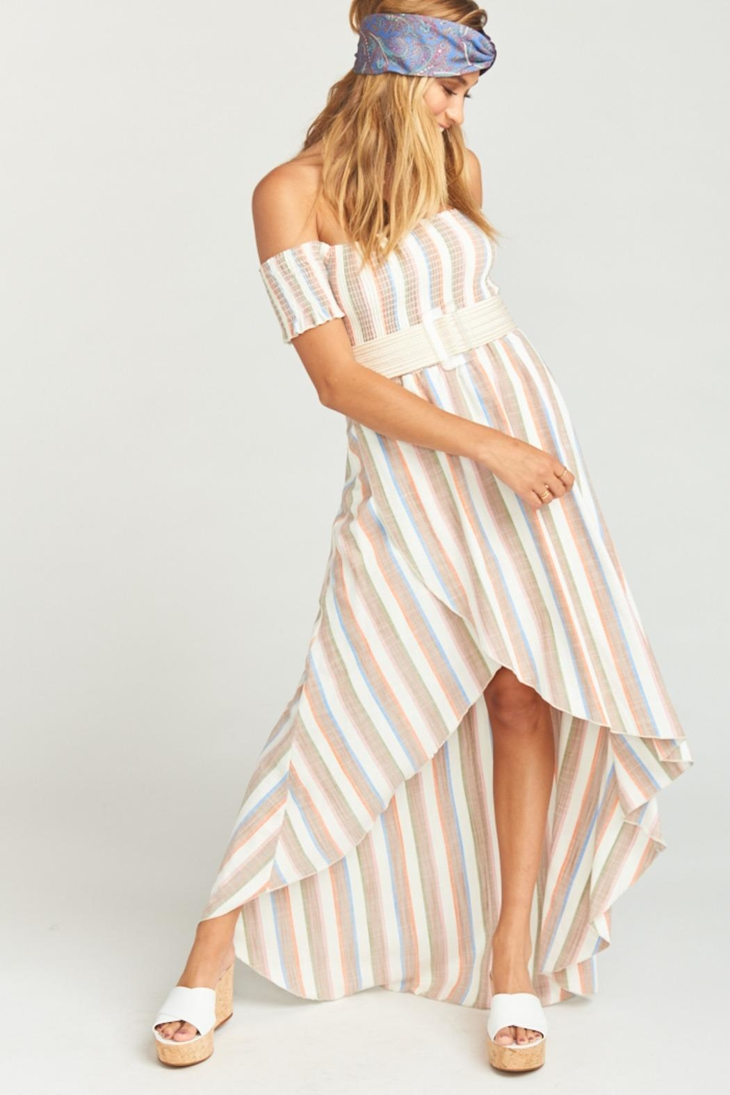 Show Me Your Mumu Willa Maxi Dress - Back Cropped Image