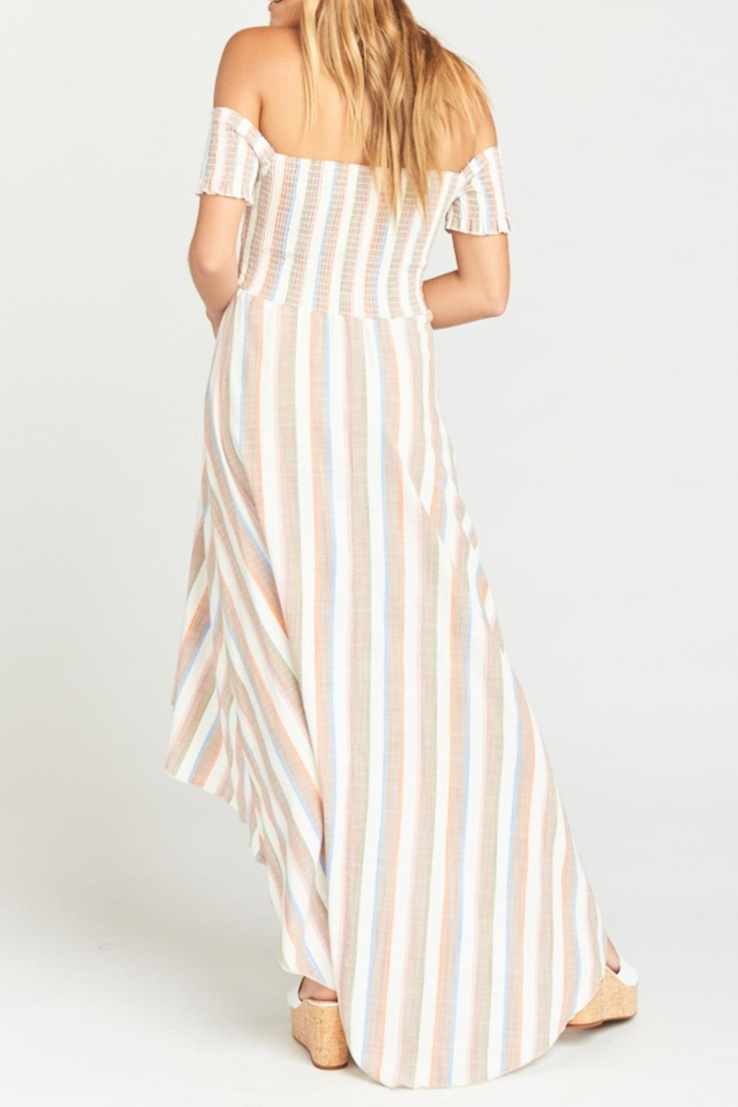 Show Me Your Mumu Willa Maxi Dress - Side Cropped Image
