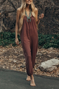 Love Stitch Willa-Tencel Jumpsuit - Product List Image