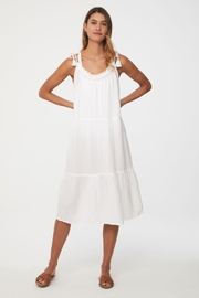beachlunchlounge Willa Tie Shoulder Dress - Front cropped