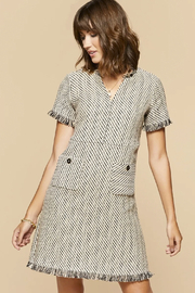 Spartina  Willette Tweed Dress - Product Mini Image