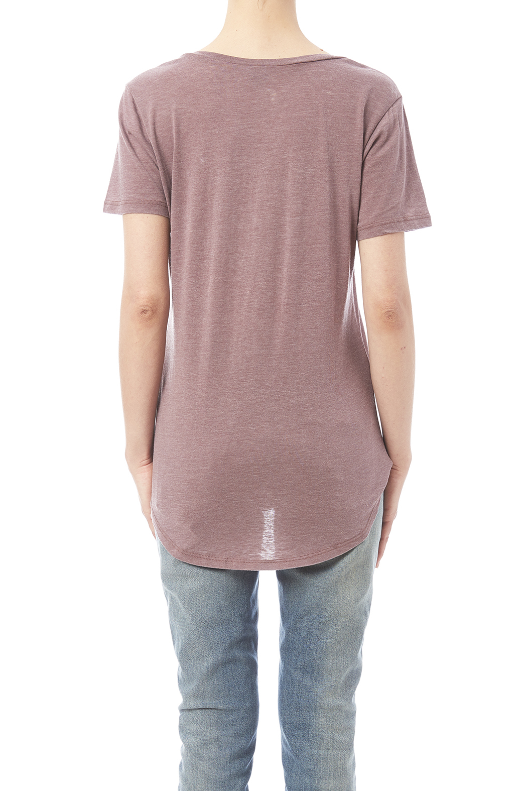 WILLIAM B The Pocket Tee - Back Cropped Image